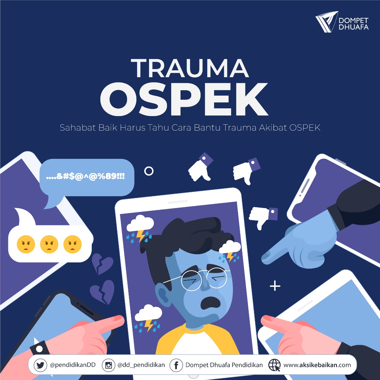 Sahabat Baik Harus Tahu Cara Bantu Trauma Akibat OSPEK
