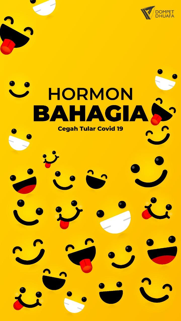 Hormon Bahagia Cegah Tular Covid-19